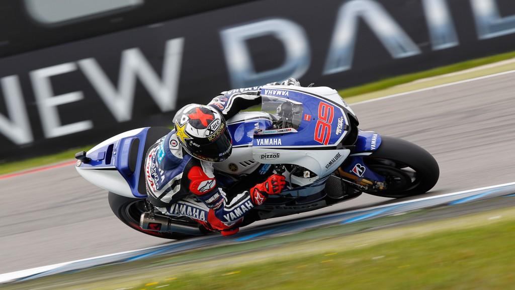 Jorge Lorenzo, Yamaha Factory Racing, Assen FP3