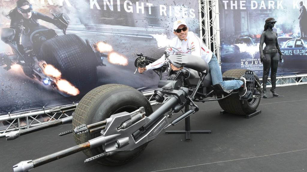 Dark Knight Rises Batpod, Michele Pirro, San Carlo Honda Gresini, TT Assen