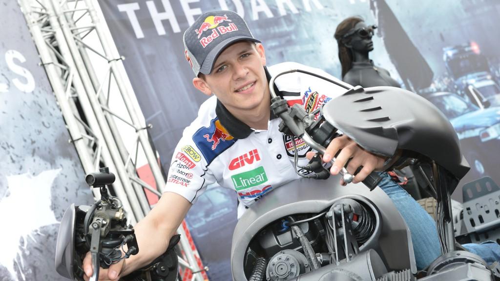 Dark Knight Rises Batpod, Stefan Bradl, LCR Honda MotoGP, TT Assen