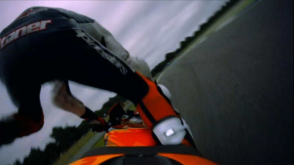 Casey Stoner, Repsol Honda - MotoGP FP3 Crash
