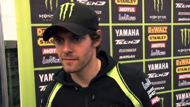 Disappointing race for Crutchlow