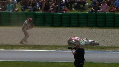 Assen 2012 - MotoGP - Race - Action - Stefan Bradl - Crash