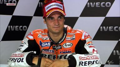 Assen 2012 - MotoGP - Race - Interview - Dani Pedrosa
