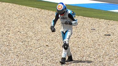 Assen 2012 - Moto2 - Race - Action - Simone Corsi - Crash