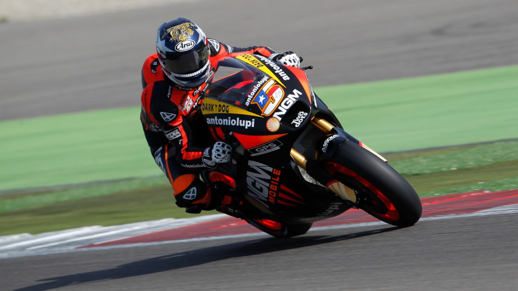 Colin Edwards, NGM MObile Forward Racing, Assen RAC