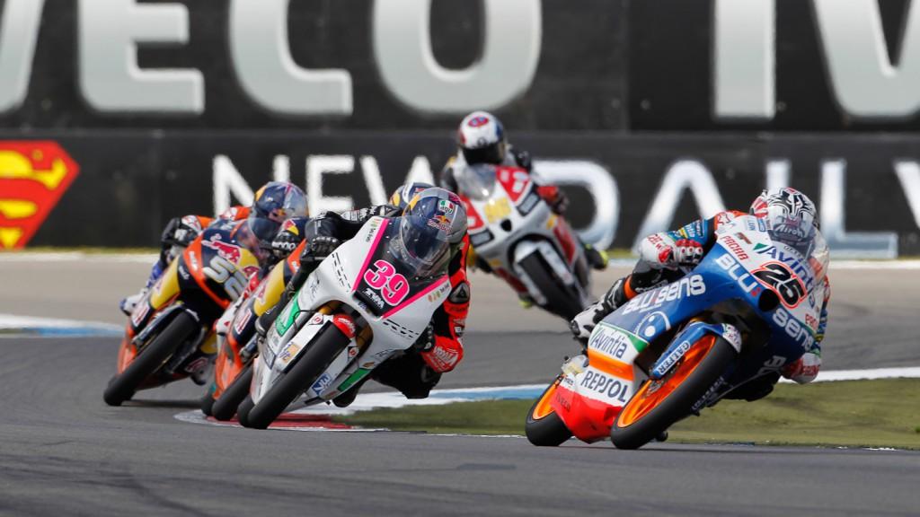 Maverick Viñales, Luis Salom, Blusens Avintia, RW Racing GP, Assen RAC