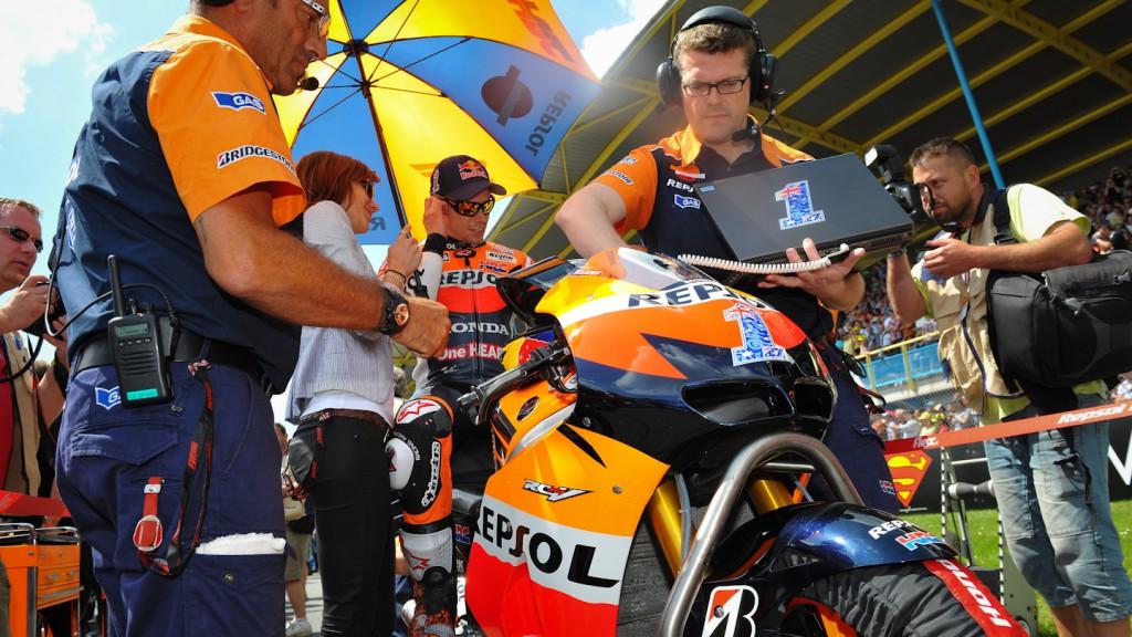 Casey Stoner, Repsol Honda Team, Assen RAC