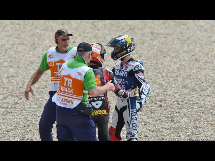 -Moto GP- Season 2012- - lorenzo bautista crash 01 slideshow