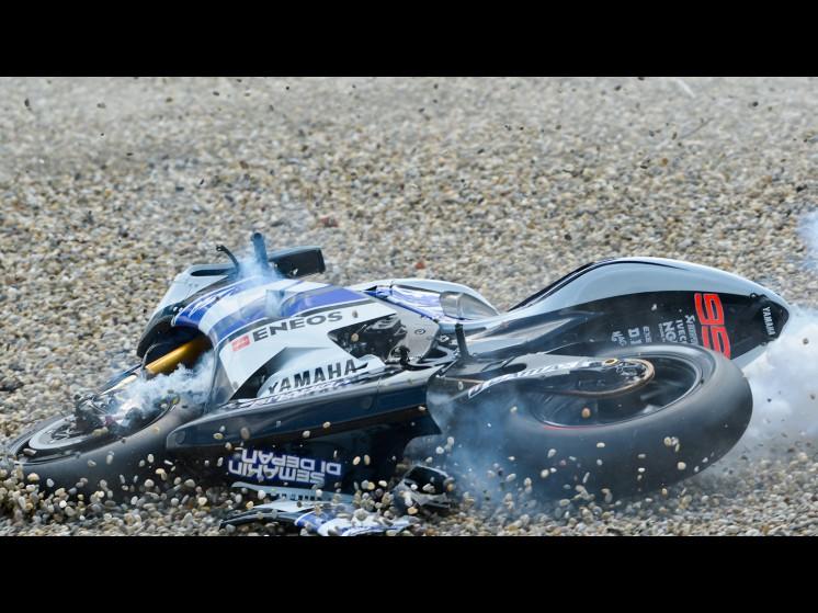 -Moto GP- Season 2012- - lorenzo bautista crash 03 slideshow