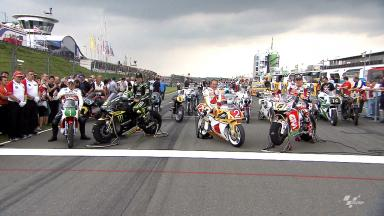 Bikes and riders of old and new gather at Sachsenring pre-event
