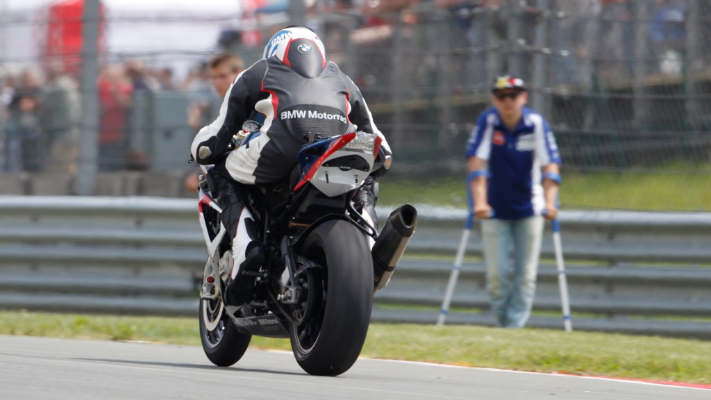 Jorge Lorenzo, Yamaha Factory Racing - eni Motorrad Grand Prix Deutschland