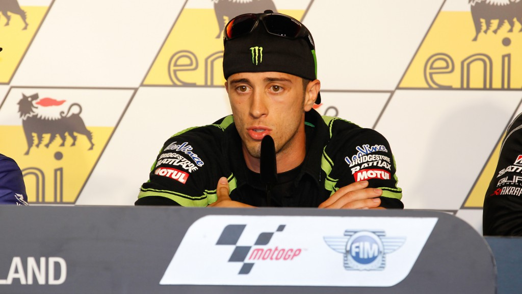 Andrea Dovizioso, Monster Yamaha Tech 3, eni Motorrad Grand Prix Deutschland Press Conference