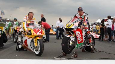 Helmut Bradl, Stefan Bradl, Sachsenring Preevent