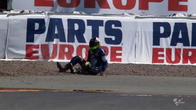 Sachsenring 2012 - MotoGP - FP1 - Action - Aleix Espargaró - Crash