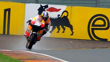 Sachsenring 2012 - MotoGP - FP2 - Highlights