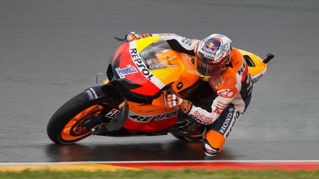 Casey Stoner, Repsol Honda Team, Sachcsenring FP2
