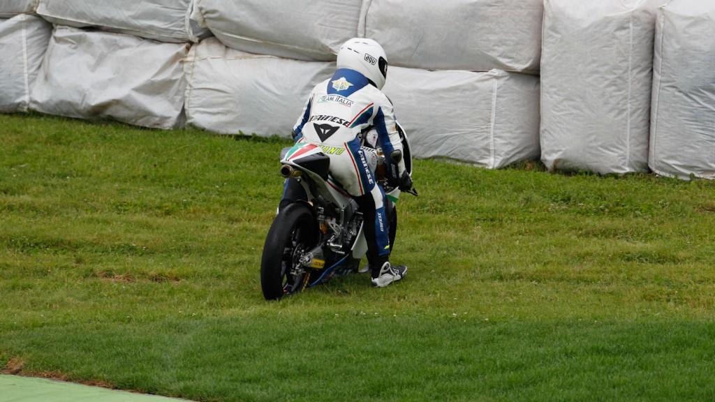 Romano Fenati, Team Italia FMI, Sachsenring FP1