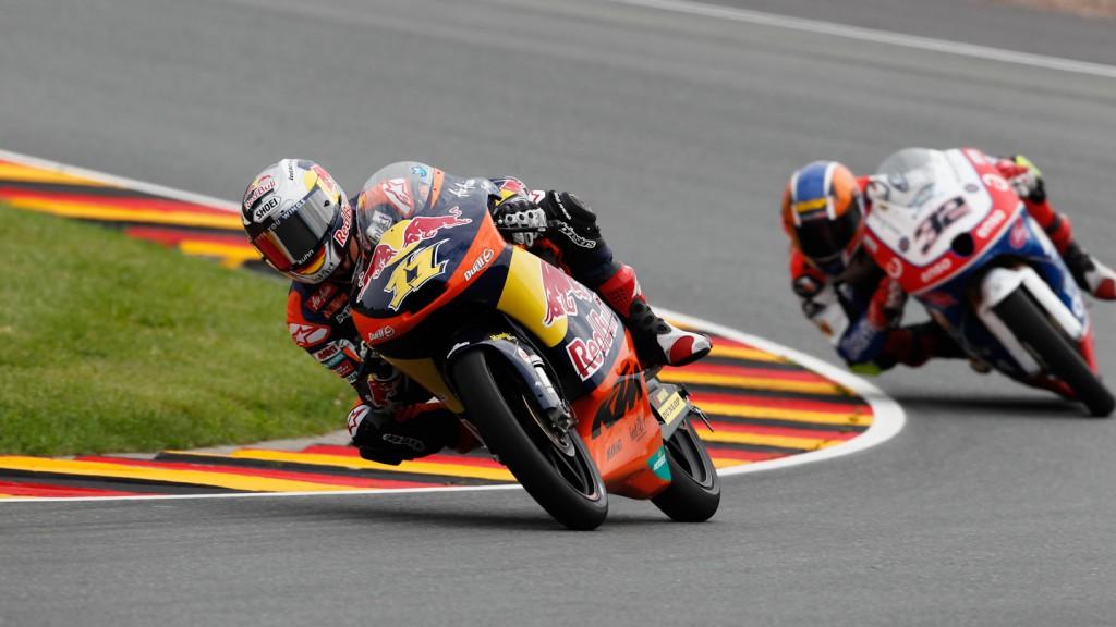 Sandro Cortese, Red Bull KTM Ajo, Sachsenring FP2