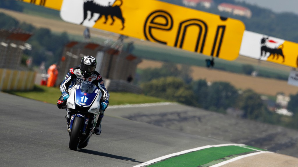 Ben SPies, Yamaha FActory Racing, Sachsenring FP1
