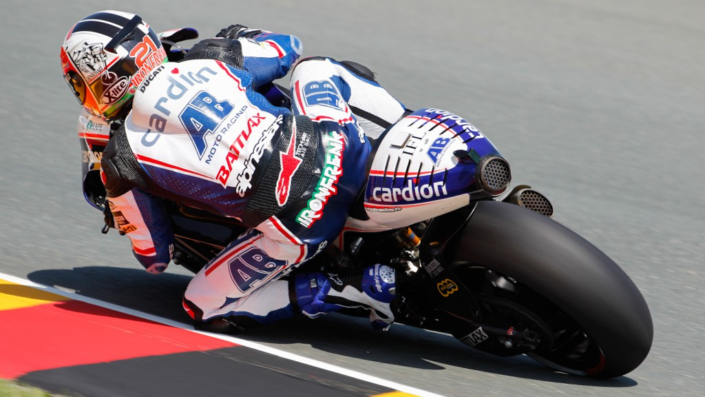 Franco Battaini, Cardion AB Motoracing, Sachsenring FP1