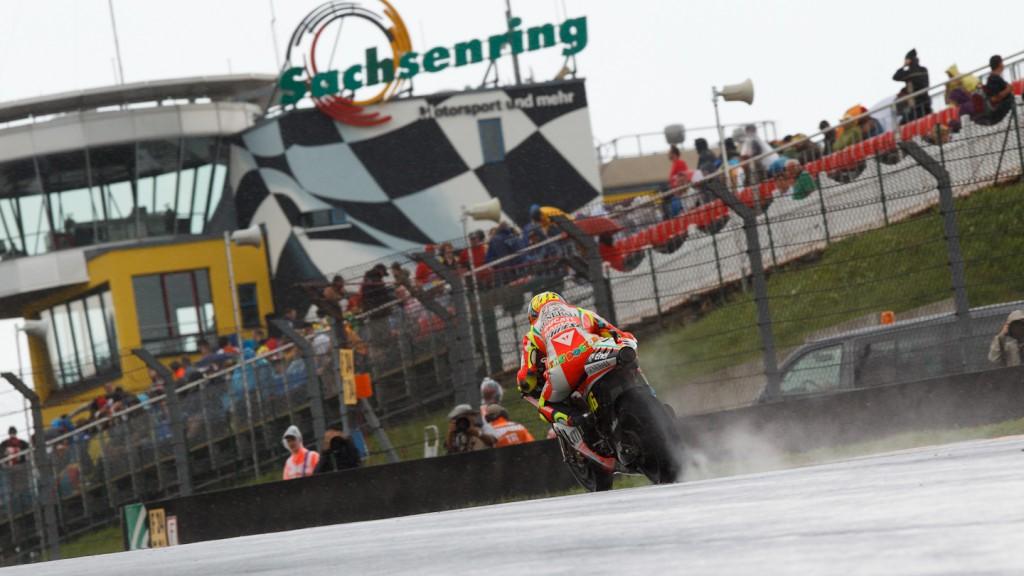 Valentino Rossi, Ducati Team, Sachsenring FP2
