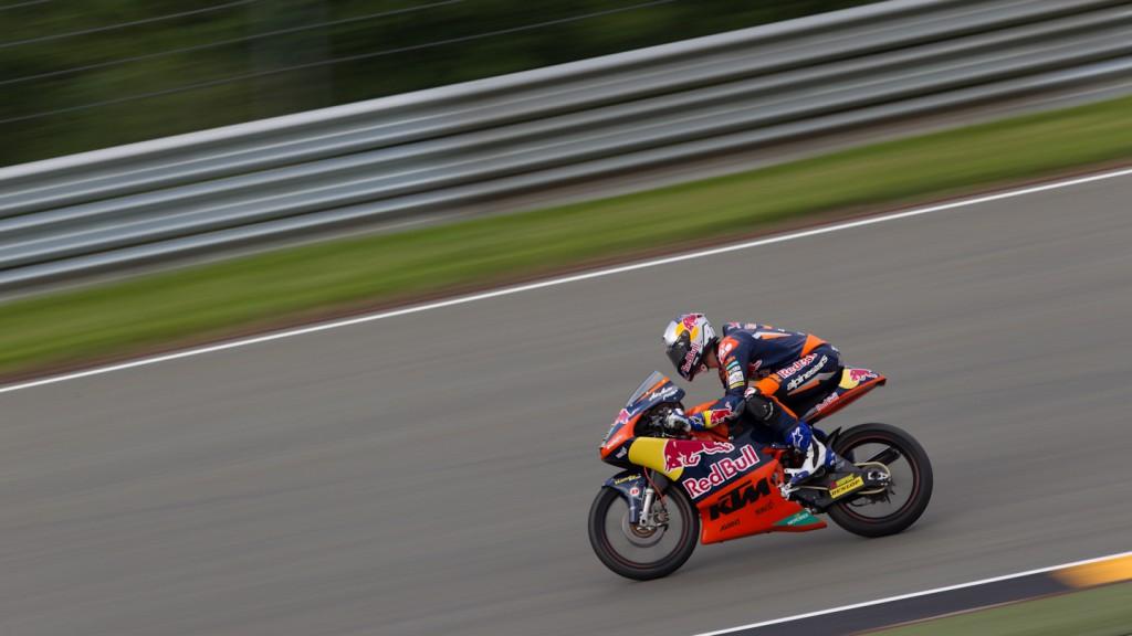 Danny Kent, Red Bull KTM Ajo, Sachsenring FP2