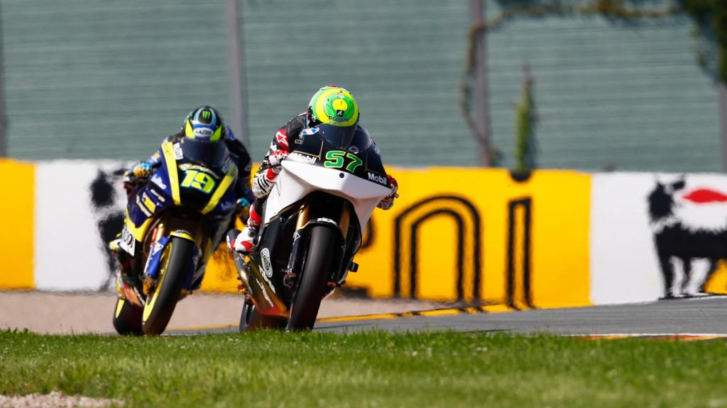 Eric Granado, JiR Moto2, Sachsenring FP1