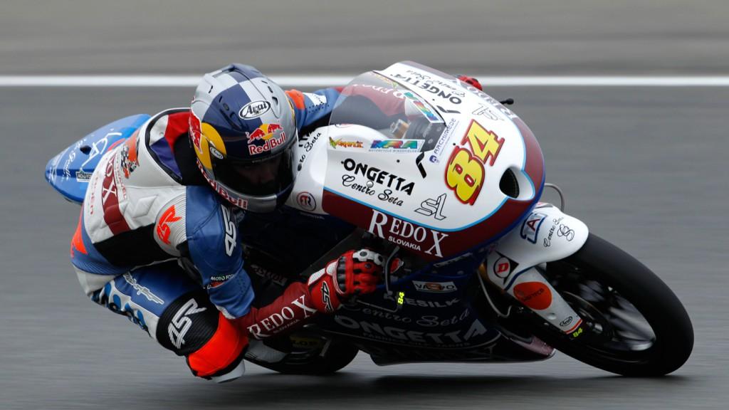 Jakub Kornfeil, Redox-Ongetta-Centro Seta, Sachsenring FP1