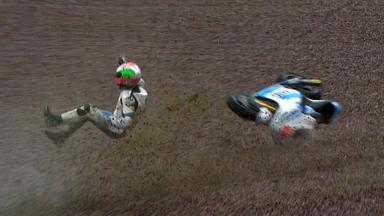 Sachsenring 2012 - MotoGP - QP - Action - Danilo Petrucci - Crash