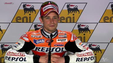 Sachsenring 2012 - MotoGP - QP - Interview - Casey Stoner