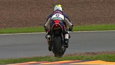 Sachsenring 2012 - Moto2 - QP - Action - Pol Espargaro