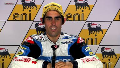 Sachsenring 2012 - Moto2 - QP - Interview - Julian Simon