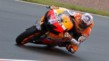 Casey Stoner, Repsol Honda Team, Sachsenring QP
