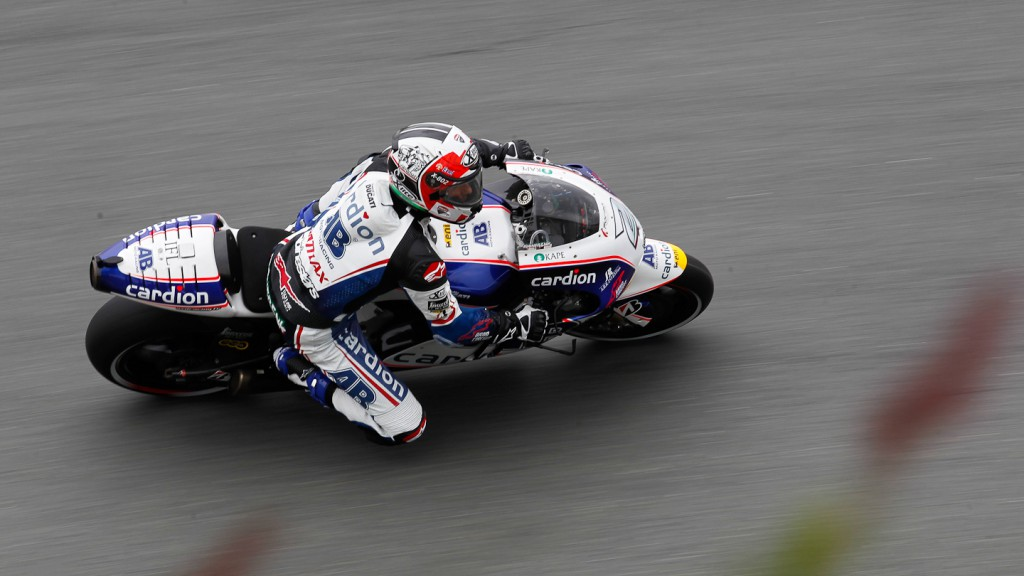 Franco Battaini, Cardion AB Motoracing, Sachsenring QP