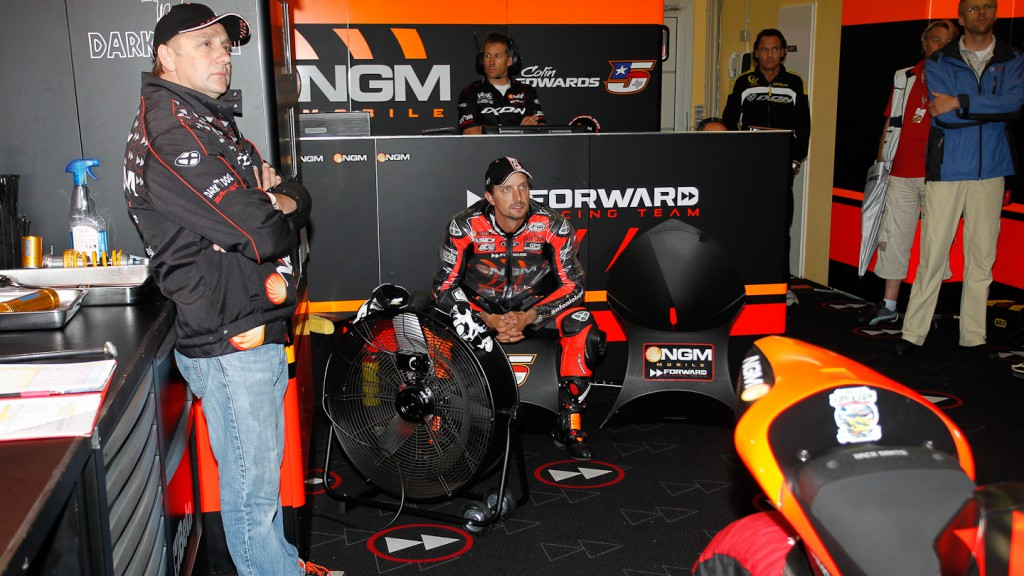 Colin Edwards, NGM Mobile Forward Racing, Sachsenring QP
