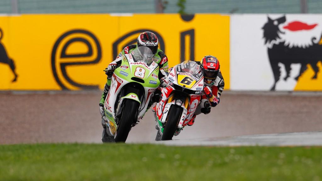 Hector Barbera, Stefan Bradl, Pramac Racing TEam, LCR Honda MotoGP, Sachsenring FP3