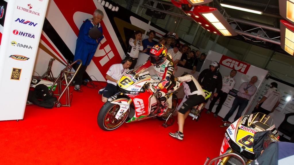 Stefan Bradl, LCR Honda MotoGP, Sachsenring QP