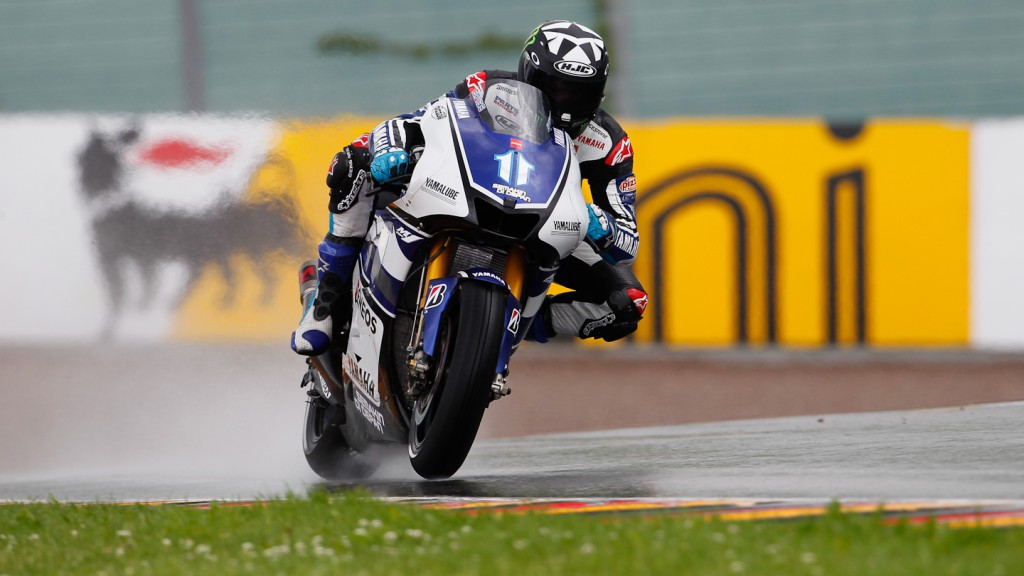 Ben Spies, Yamaha Factory Racing, Sachsenring QP