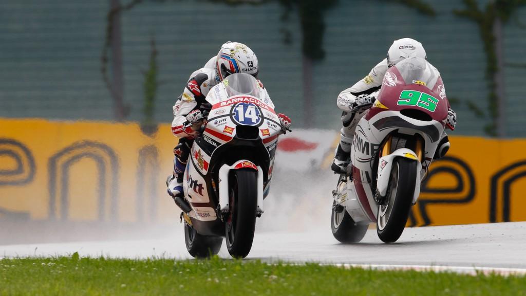 Ratthapark Wilairot, Anthony West, QMMF Racing Team, Thai Honda PTT Gresini Moto2, Sachsenring QP