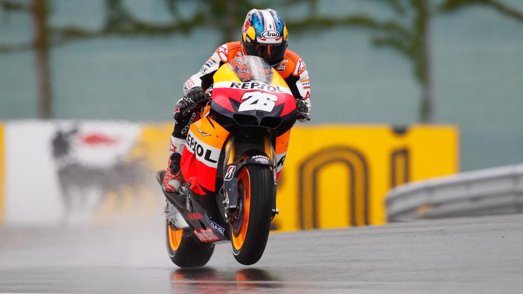 Dani Pedrosa, Repsol Honda Team, Sachsenring QP