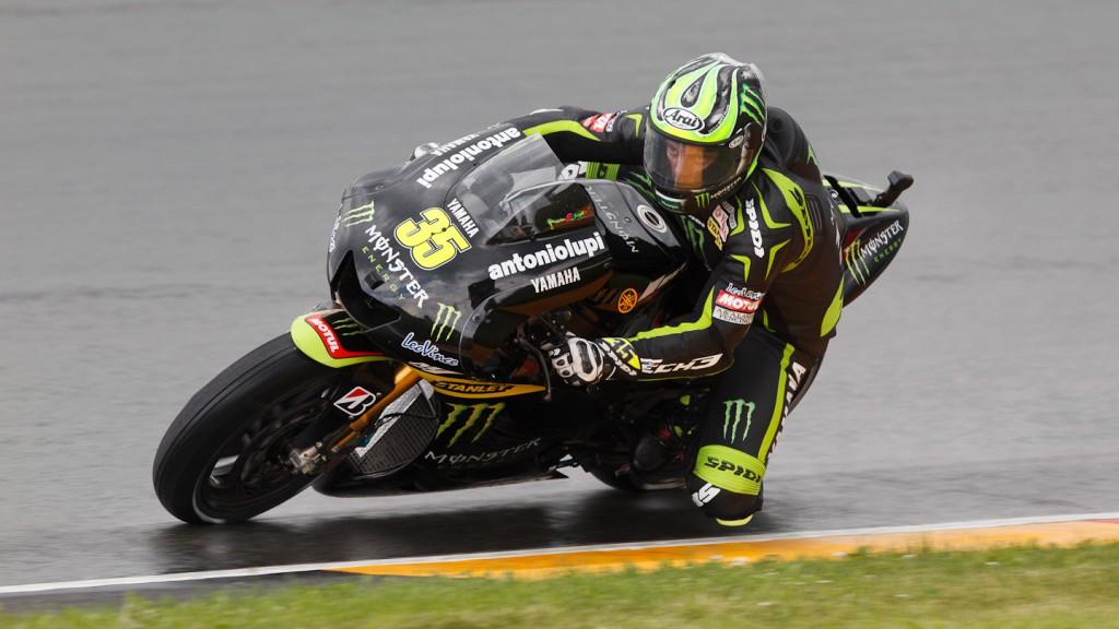 Cal Crutchlow, Monster Yamaha Tech 3, Sachsenring QP
