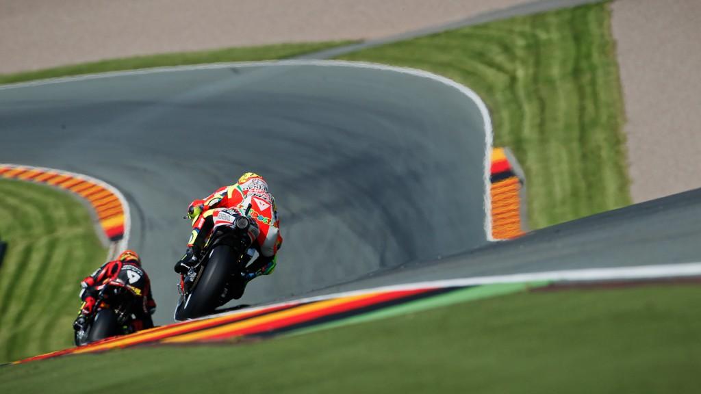 Valentino Rossi, Ducati Team, Sachsenring