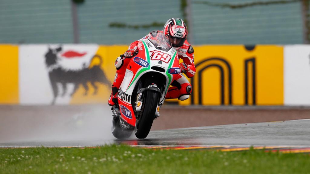 Nicky Hayden, Ducati Team, Sachsenring QP