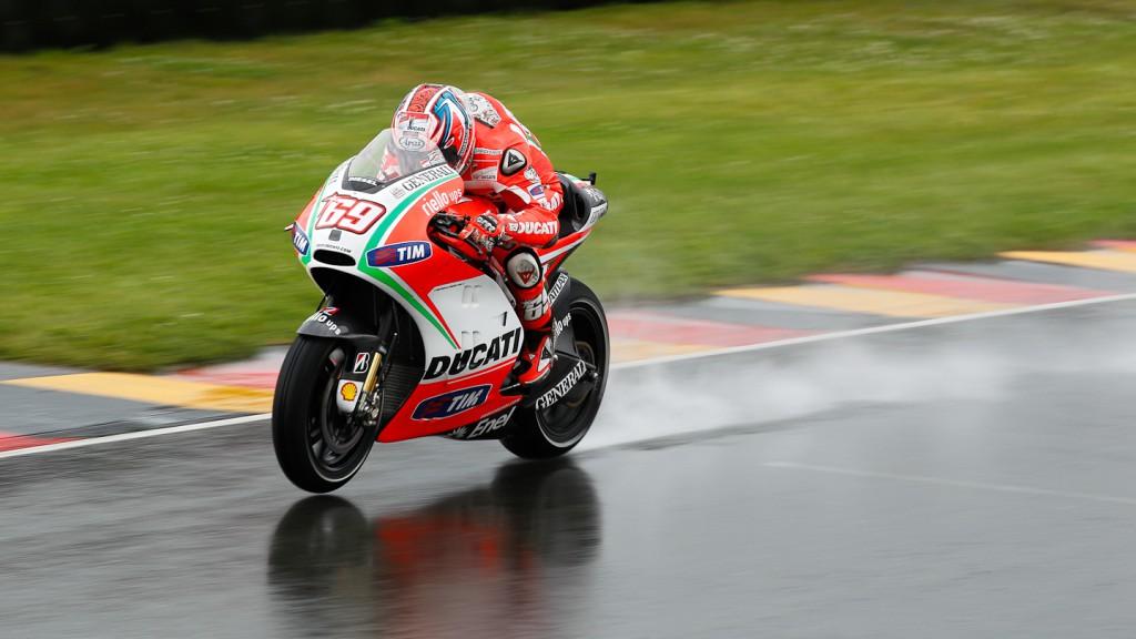 Nicky Hayden, Ducati Team, Sachsenring FP3
