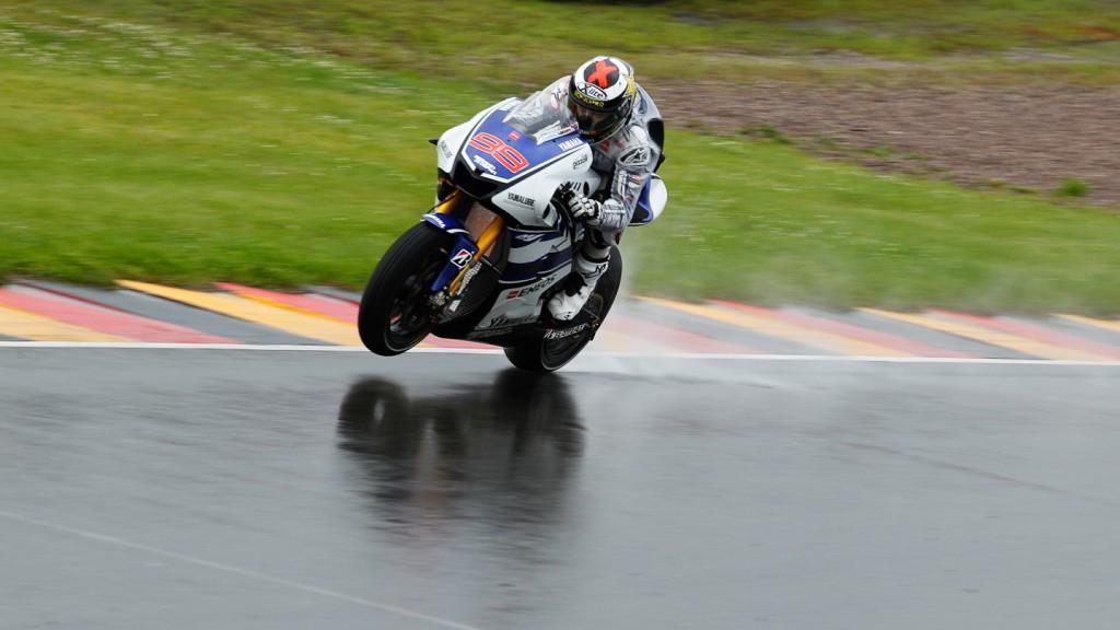 Jorge Lorenzo, Yamaha Factory Racing, Sachsenring QP