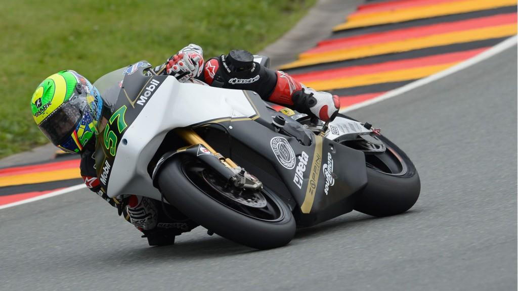 Eric Granado, JiR Moto2, Sachsenring QP