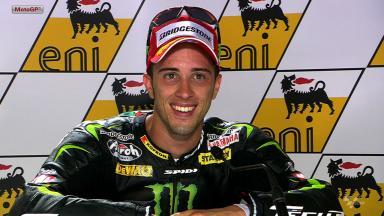 Sachsenring 2012 - MotoGP - Race - Interview - Andrea Dovizioso