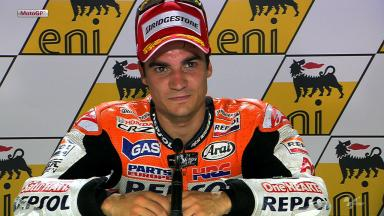 Sachsenring 2012 - MotoGP - Race - Interview - Dani Pedrosa