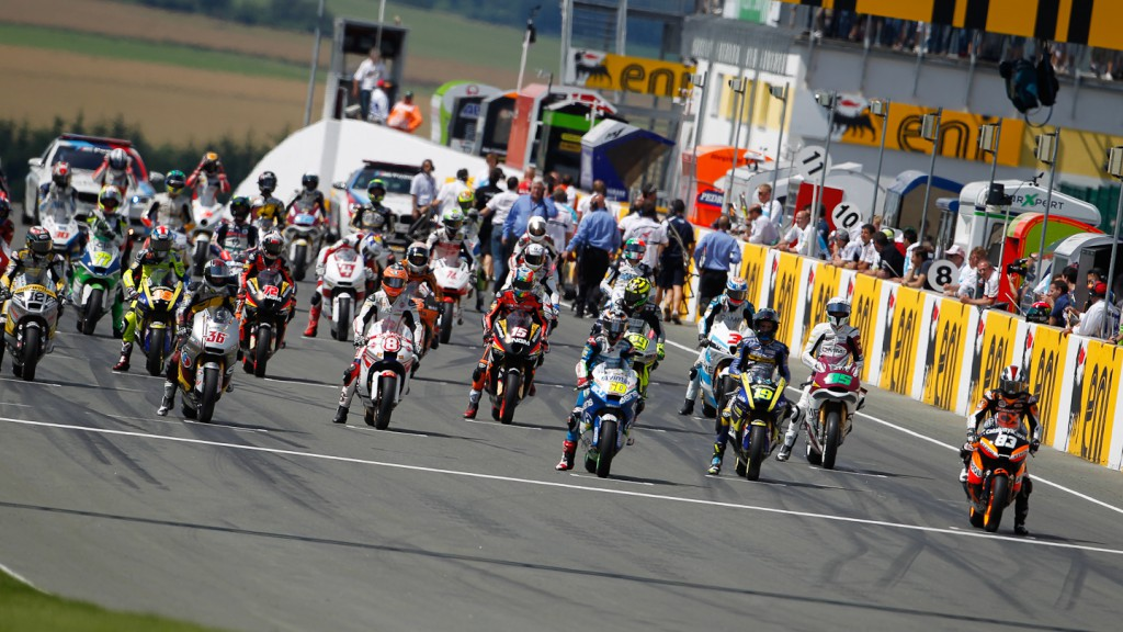 Moto2, Sachsenring RAC
