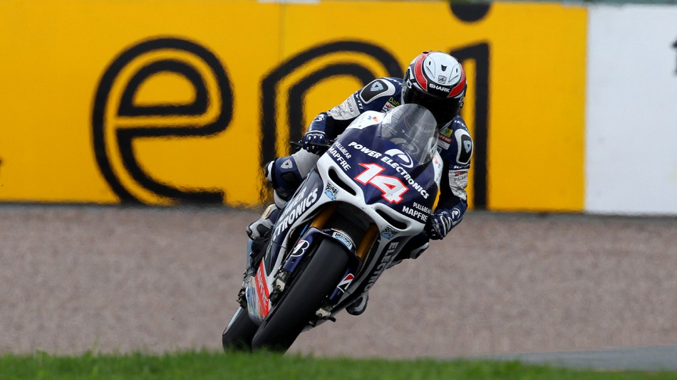 Randy de Puniet, Power Electronics Aspar, Sachsenring RAC